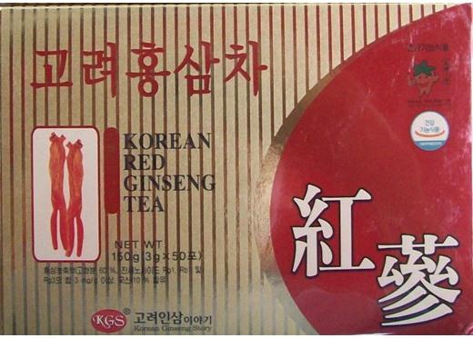 Trà Hồng Sâm Hàn Quốc KGS 150gr
