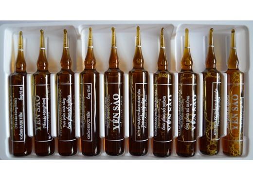 Ống yến sào bổ dưỡng hộp 10 ống