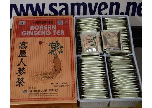 Trà Sâm Buleebang Hàn Quốc 100 gói