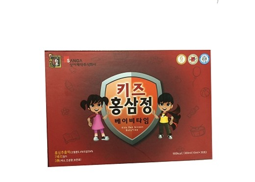 Nước hồng sâm Baby Sanga Hàn Quốc 30 gói 10ml
