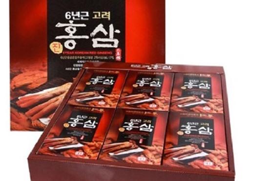 Nước Hồng Sâm 6 năm Taewoong Food Hàn Quốc 30 gói 70ml