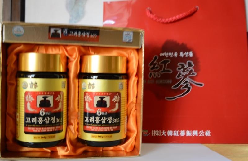 Cao hồng sâm 365 Hàn Quốc Daedong Korea Ginseng hộp 480g-PP
