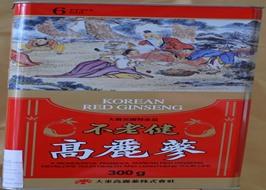 Hồng sâm khô hộp thiếc Daedong 300g