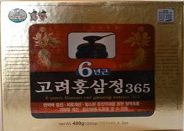 Cao Hồng Sâm 365 nhập khẩu Hàn Quốc 480g
