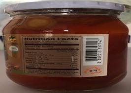 Sâm tươi ngâm mật ong Bio Hàn Quốc lọ 580gr