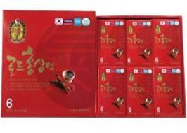 Nước Uống Hồng Sâm 6 Năm tuổi Hàn Quốc (70ml x 30 gói)