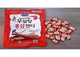 Kẹo hồng sâm không đường 365 Hàn Quốc 500gr
