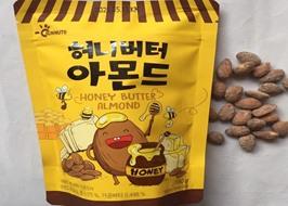 Hạt hạnh nhân tẩm mật ong Hàn Quốc 180g